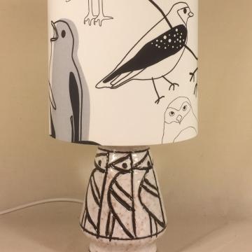 'Bye Bye Birdie' vintage lamp