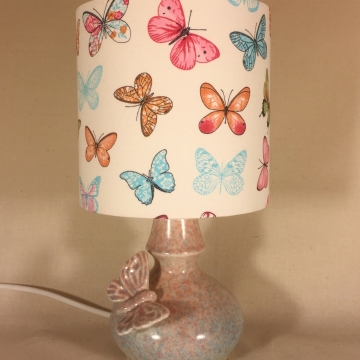 'Madame Butterfly' vintage lamp