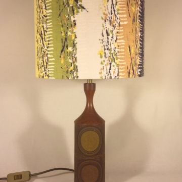 'The Good Life' vintage lamp