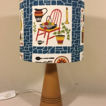 'Homemaker' vintage lamp