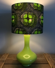 Spring Green Spring Green vintage lamp with handmade shade