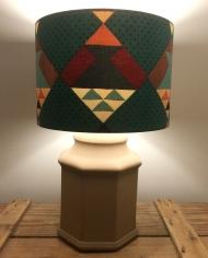 Navaho vintage lamp with handmade shade