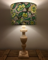 Chip n Dale vintage lamp with handmade shade